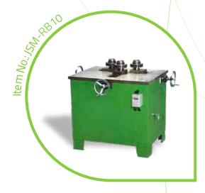 Metal ring bending machine