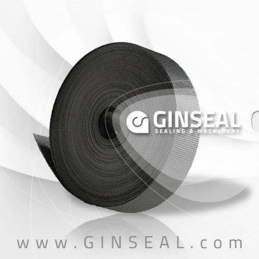 Graphite corrugated tape